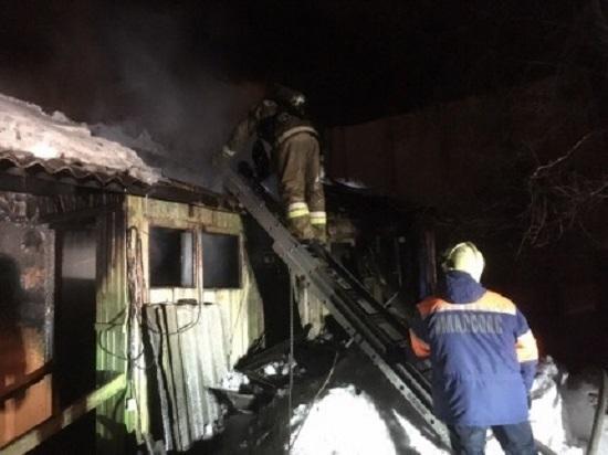 Мужчина, сгоревший Ноябрьске, был убит до пожара