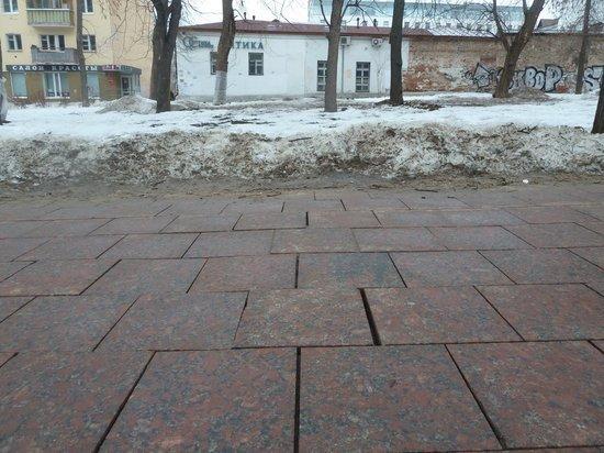 Сквер имени 1905 года начнут ремонтировать в апреле