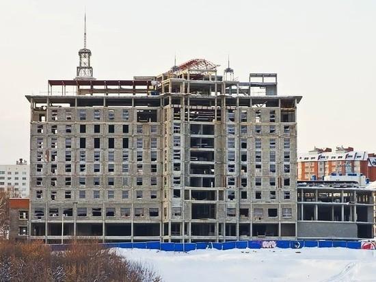 Бывший «Одис-отель» на заливе обещают достроить до конца 2020 года