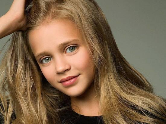 Школьница из Красноярска стала одной их самых красивых девочек-моделей в мире