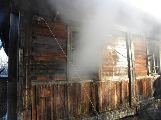 Пожилая женщина с сыном сгорели на пожаре в Хилке