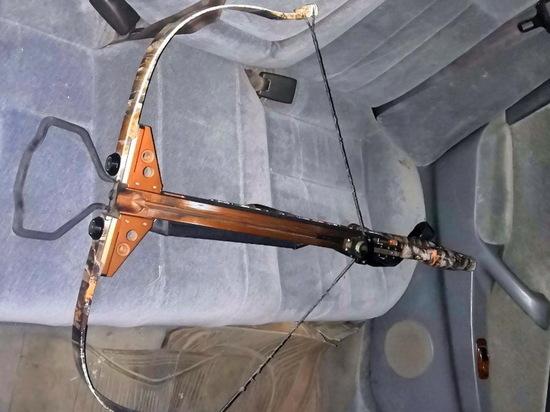 В Бурятии наркотики пытались передать в тюрьму при помощи арбалета со стрелой