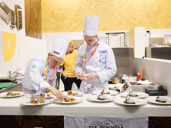 Сочинские повара заняли второе место на конкурсе Chef a la Russe