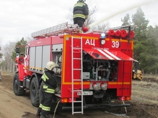 Масштабные противопожарные учения прошли в Волгоградской области