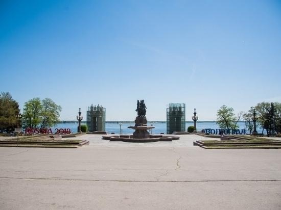 Фонтан «Искусство» на Волгоградской набережной будет отремонтирован