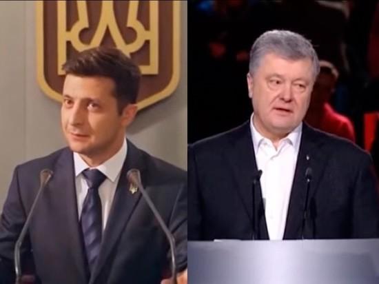 ЦИК: Зеленский и Порошенко идут вровень по голосам в первом туре