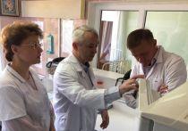 Врио курского губернатора посетил ОДКБ и Детский дом