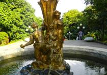 В Железноводске к курортному сезону готовят фонтаны