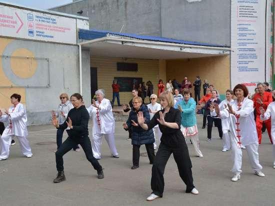 Большой фестиваль китайской гимнастики тайцзицюань «Ал Тай Фест» прошел в Барнауле