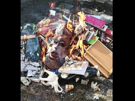 ВПольше священники сожгли книги оГарри Поттере