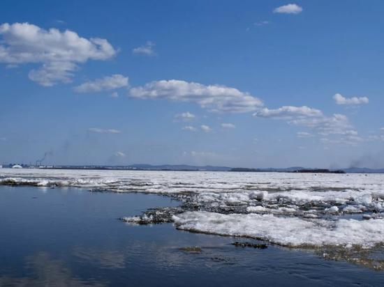 Ледоход на Амуре у Хабаровска начнется на неделю раньше