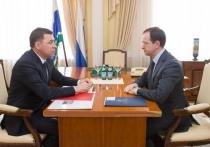 Куйвашев попросил у Мединского поддержки в создании «Эрмитаж-Урал»