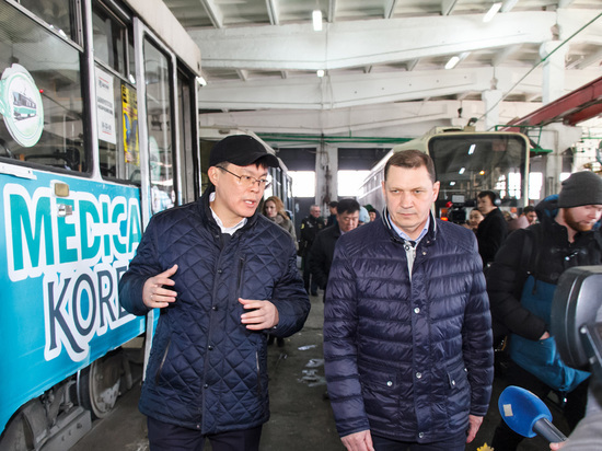 В Улан-Удэ закупят 12 низкопольных трамваев и проведут капремонт путей
