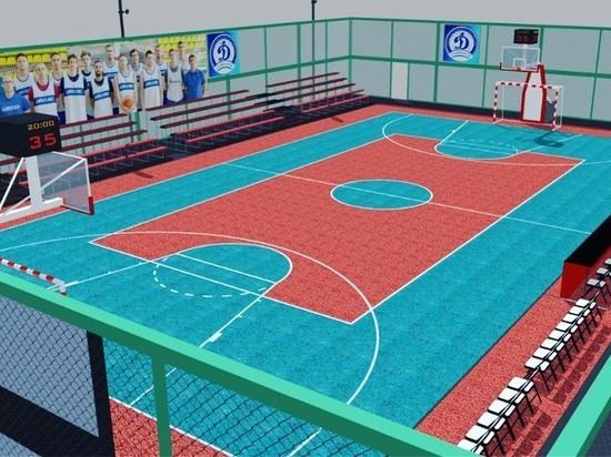 Площадку для игры в баскетбол построят в парке Победы Ставрополя