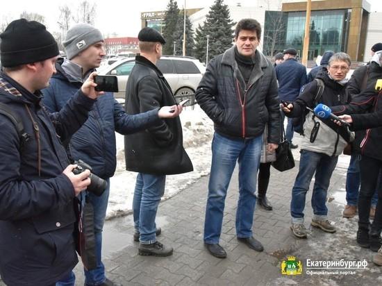 Мэр Екатеринбурга стал экспертом по грязи