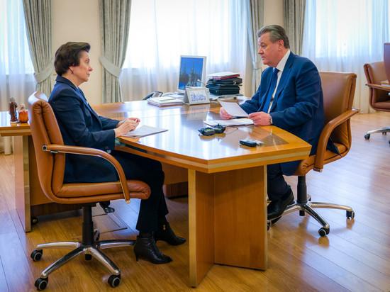 ГлаваНижневартовска отчитался перед губернатором Югры обитогах работы