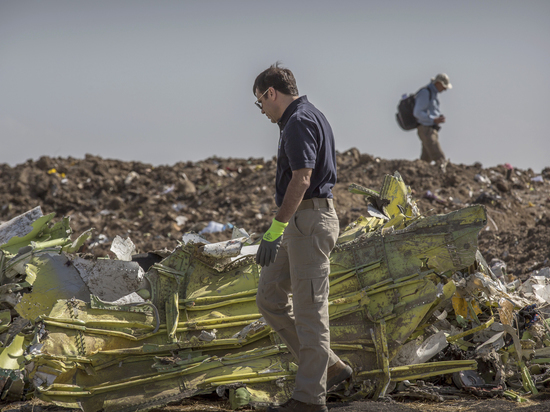 Стало известно о действиях пилотов рухнувшего в Эфиопии Boeing