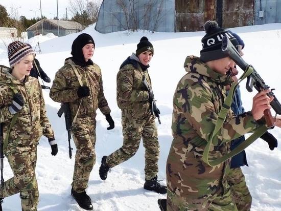 В Сургуте завершилась смена военно-спортивного лагеря «Сибирский легион»