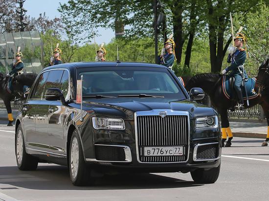 Путин на автомобиле проекта