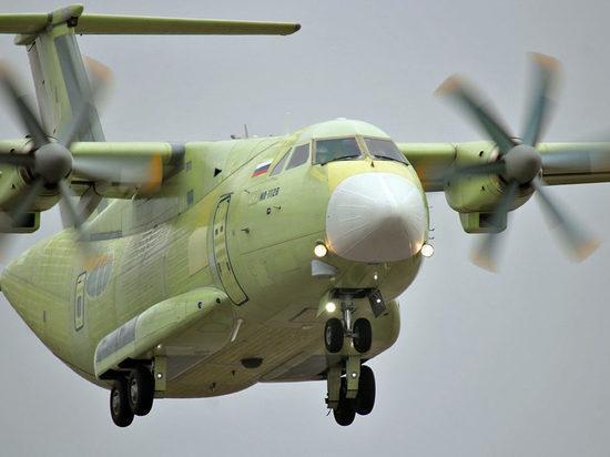 Испытания самолетом: как новый  Ил-112В летал  над Воронежем