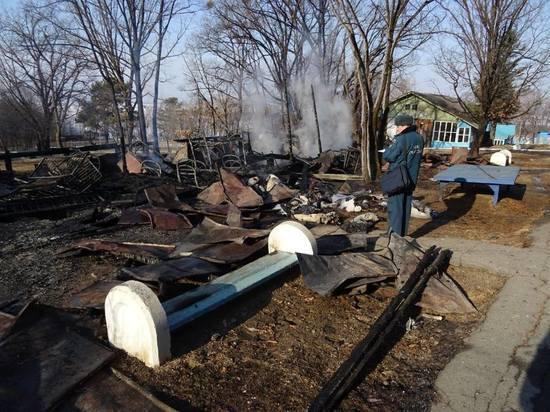 Горевший детский лагерь под Хабаровском будет работать в прежнем режиме