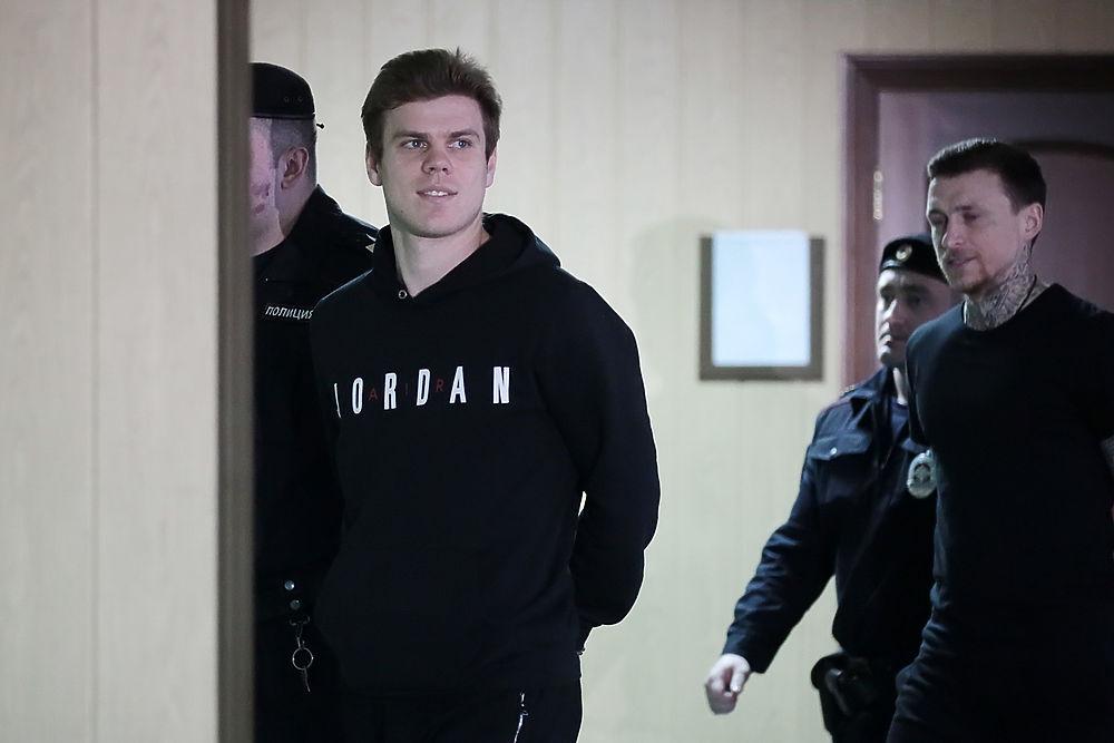 Кокорин и Мамаев в суде: прокурор потребовал еще полгода СИЗО