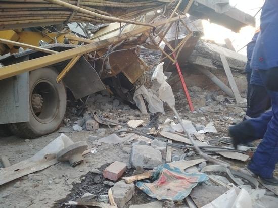 Спасатели рассказали о работе на месте обрушения здания в Саранске