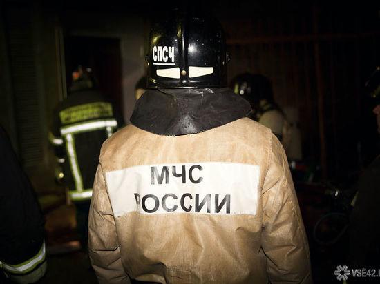 Электровоз загорелся в Яйском районе