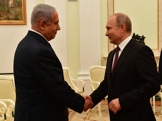 Биньямин Нетаниягу встретился с президентом Владимиром Путиным