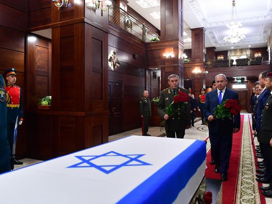Нетаниягу поблагодарил Российскую армию за помощь в возвращении останков Захарии Бумеля