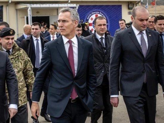 Столтенберг: НАТО усилит поддержку Украины и Грузии в Черном море