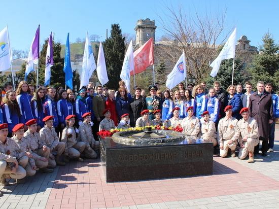Десант Победы: в Крыму проходит патриотическая акция молодёжи