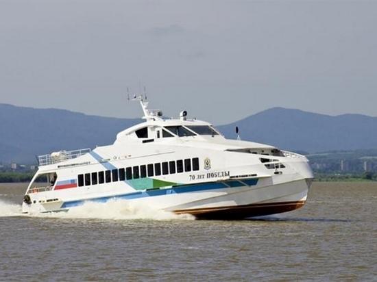 Число речных рейсов Хабаровск - Фуюань будет увеличено