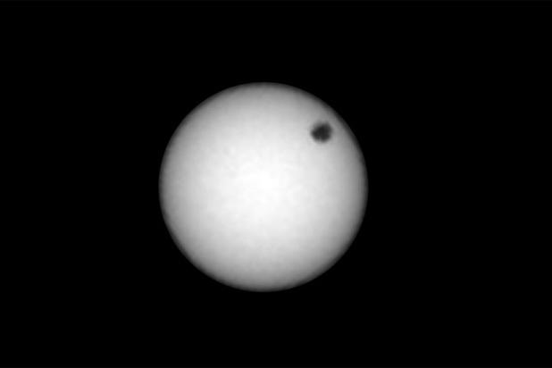 Марсианский ровер заснял сразу два солнечных затмения