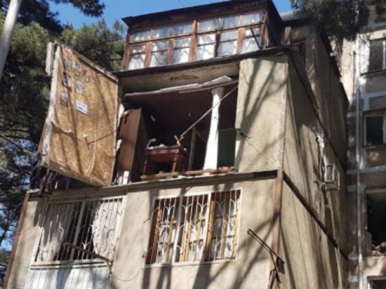 В грузинской столице произошел взрыв в жилом доме