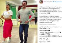 Волгоградку Елену Исинбаеву в Махачкале научили лезгинке