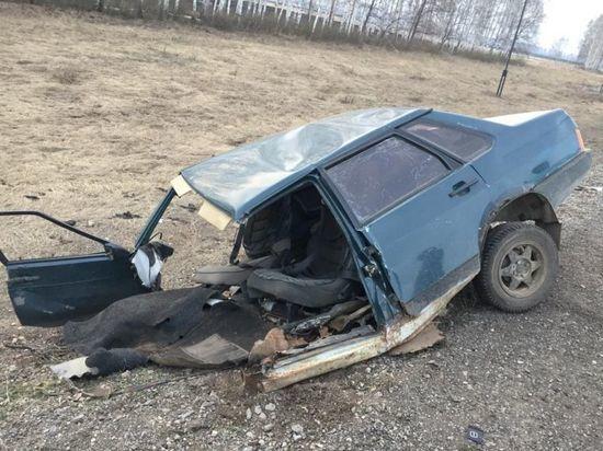 Жертвами жуткой аварии в Башкирии стали два человека, еще четверо пострадали
