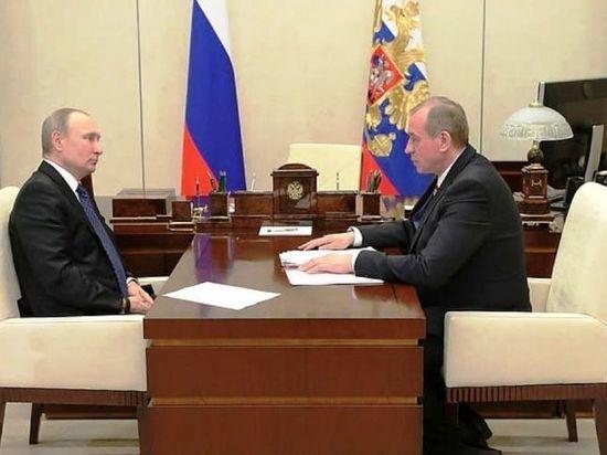 Губернатор Левченко обманул президента Путина с Байкалом