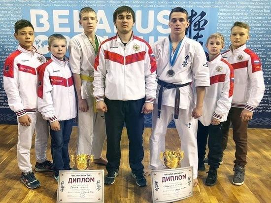 Мордовские каратисты приехали с медалями из Белоруссии