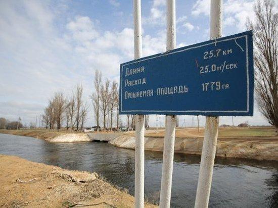Оросительные системы региона подготавливают к поливному сезону