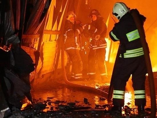 Очередной барак горел в Хабаровске