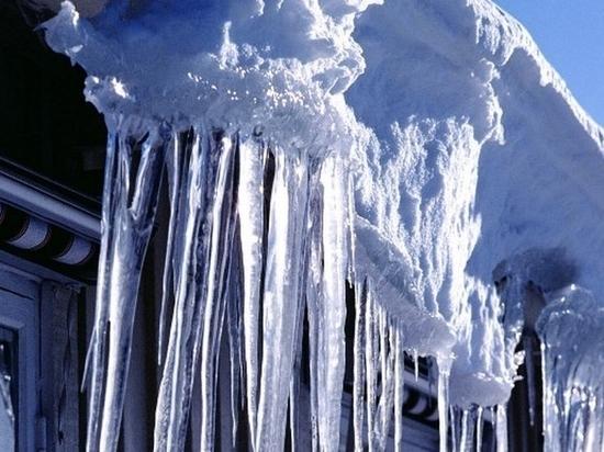 Ледяные глыбы угрожают жителям Комсомольска-на-Амуре