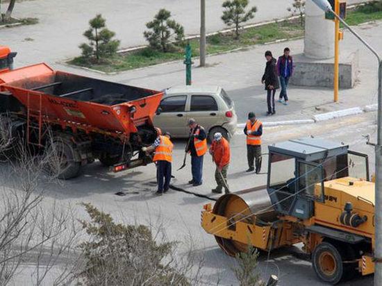 При ремонте калмыцких дорог увели два миллиона рублей