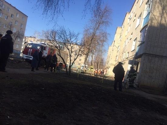 В пятиэтажке Саранска загорелся подвал