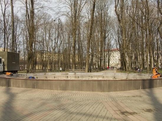 К 25 апреля в Смоленске заработают фонтаны