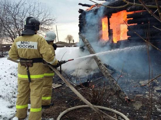 В Подмосковье в огне погибла мать пятерых детей