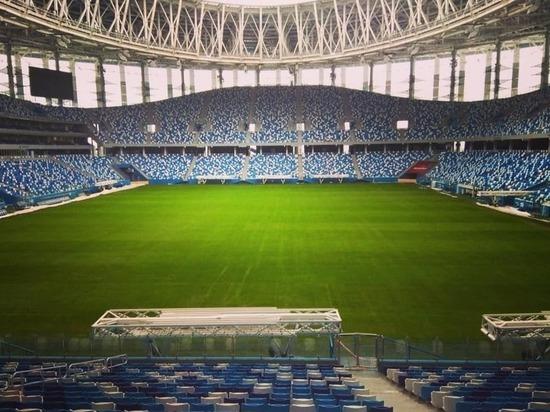 Стадиону «Нижний Новгород» купили фирменный стиль