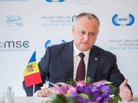 Додон: велика вероятность досрочных парламентских выборов в Молдове