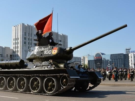 Более 100 единиц военной техники задействуют на военном параде в Хабаровске