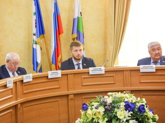 Председатель иркутской думы подвел итоги работы за год